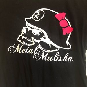 Women's metal mulisha shirt